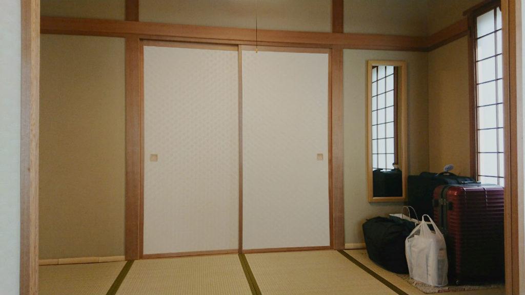 小樽 宏楽園 露天風呂無し和室客室 四畳ある次の間