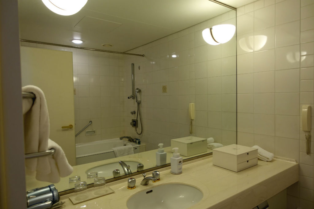ウィンザーホテル洞爺 スーペリアツイン バスルーム