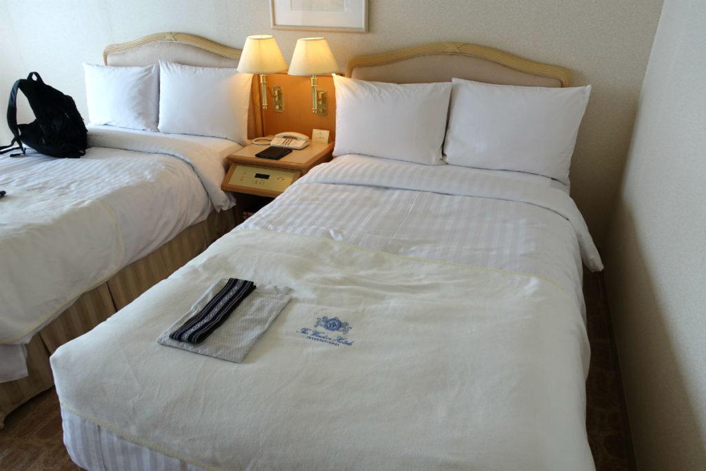ウィンザーホテル洞爺 スーペリアツイン ベッド