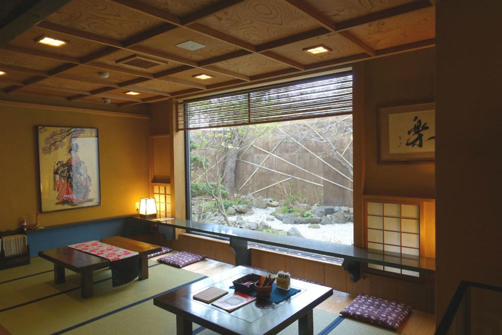小樽 宏楽園 一階のお休み処