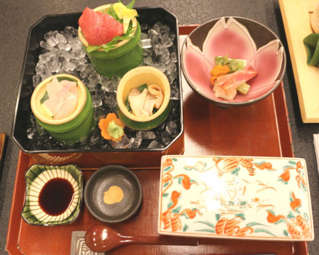 小樽 宏楽園 夕食 1