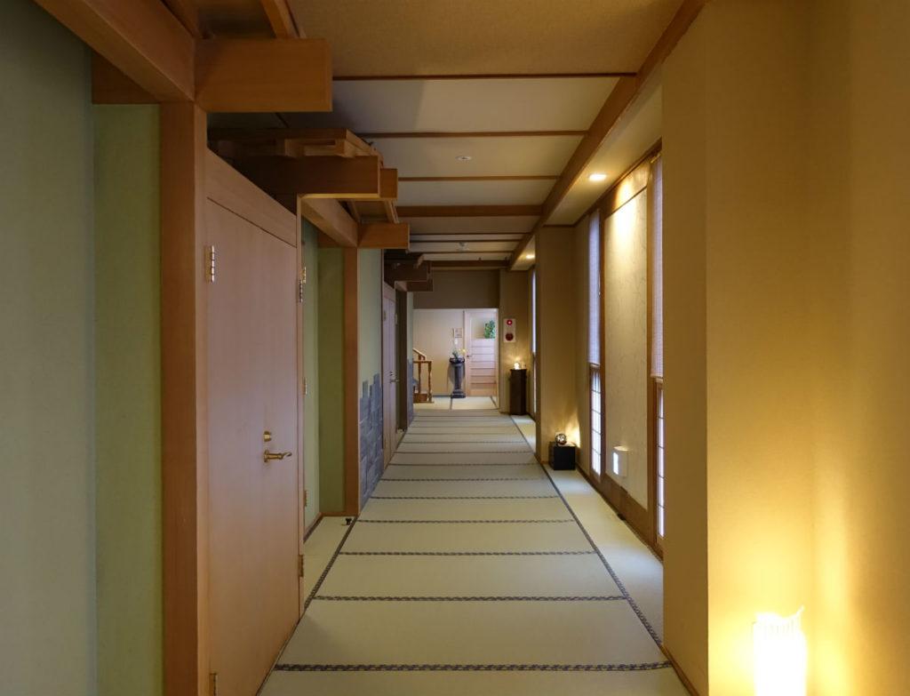 小樽 宏楽園 館内廊下2