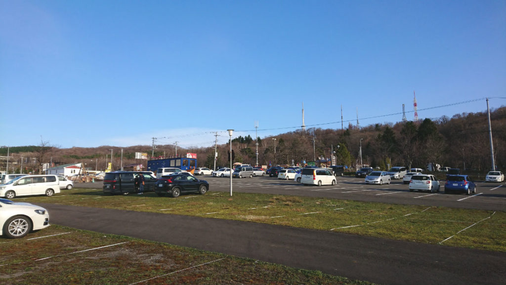 北海道旭山動物園 民間無料駐車場
