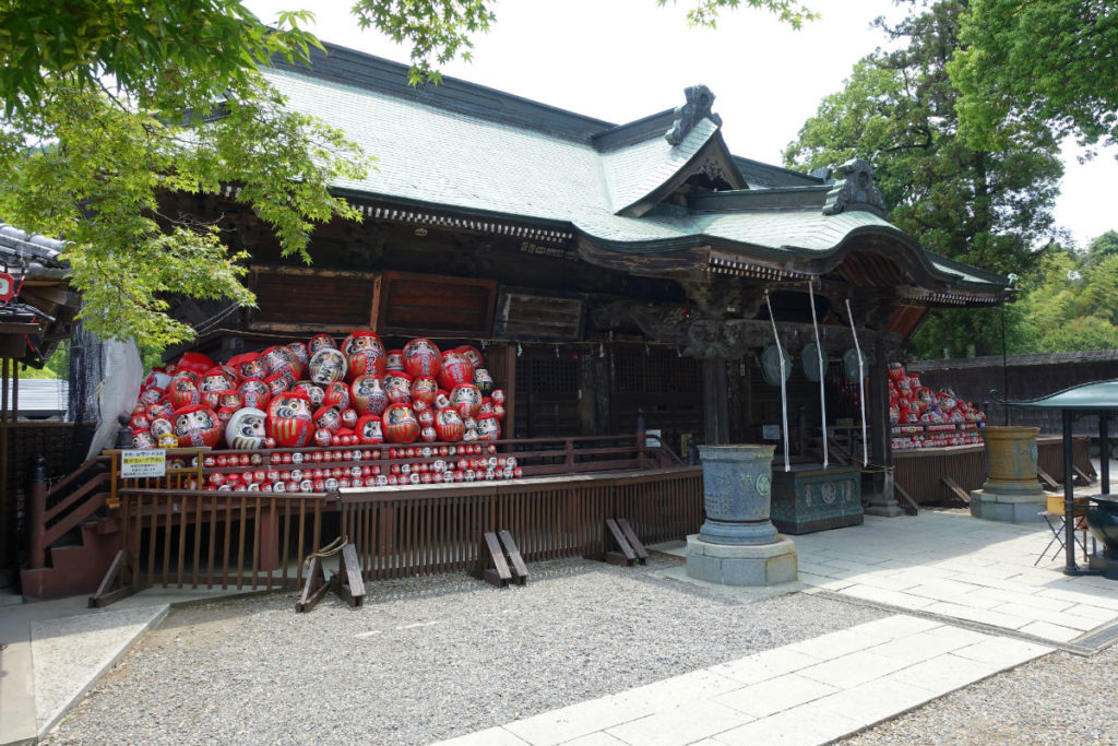 群馬高崎少林山達磨寺 霊符堂