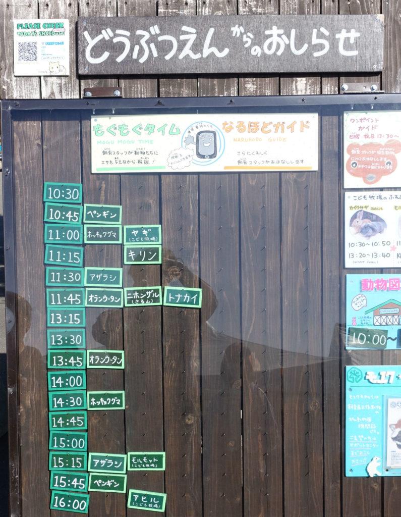 北海道旭山動物園 もぐもぐタイムの掲示板