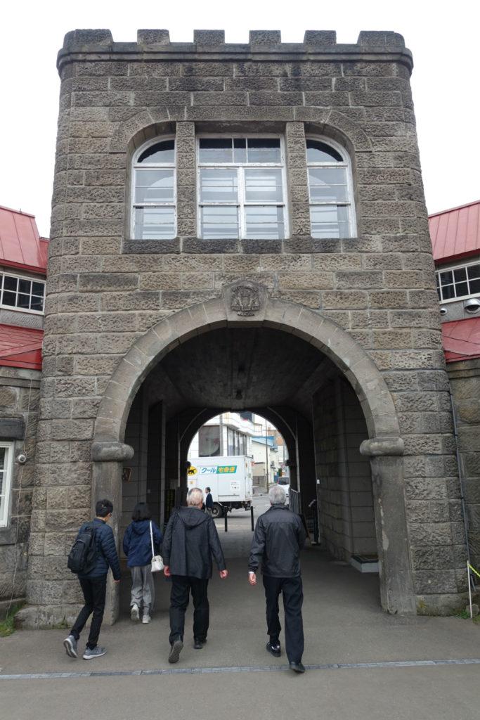 北海道余市 ニッカウヰスキー余市蒸留所 正門 内側