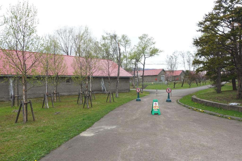 北海道余市 ニッカウヰスキー余市蒸留所 敷地内の風景