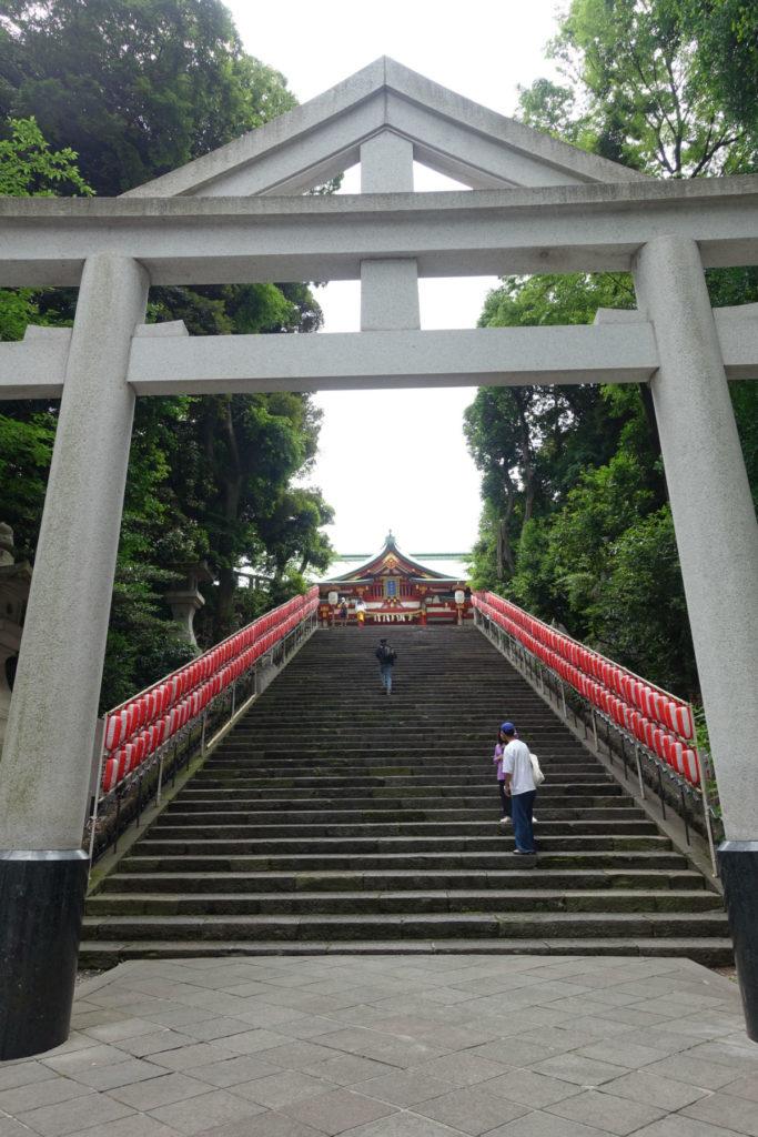 日枝神社 山王神社 正門 鳥居