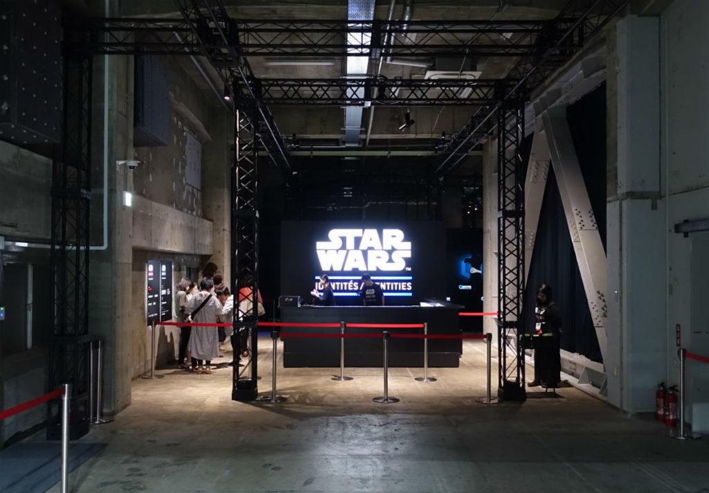 Star Wars Identities Japan 5F入り口