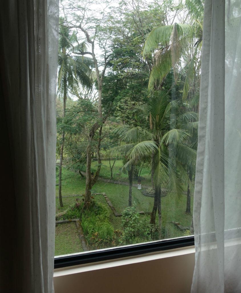 ハイアットリージェンシー ジョグジャカルタ ツイン 窓 バルコニーはなし。