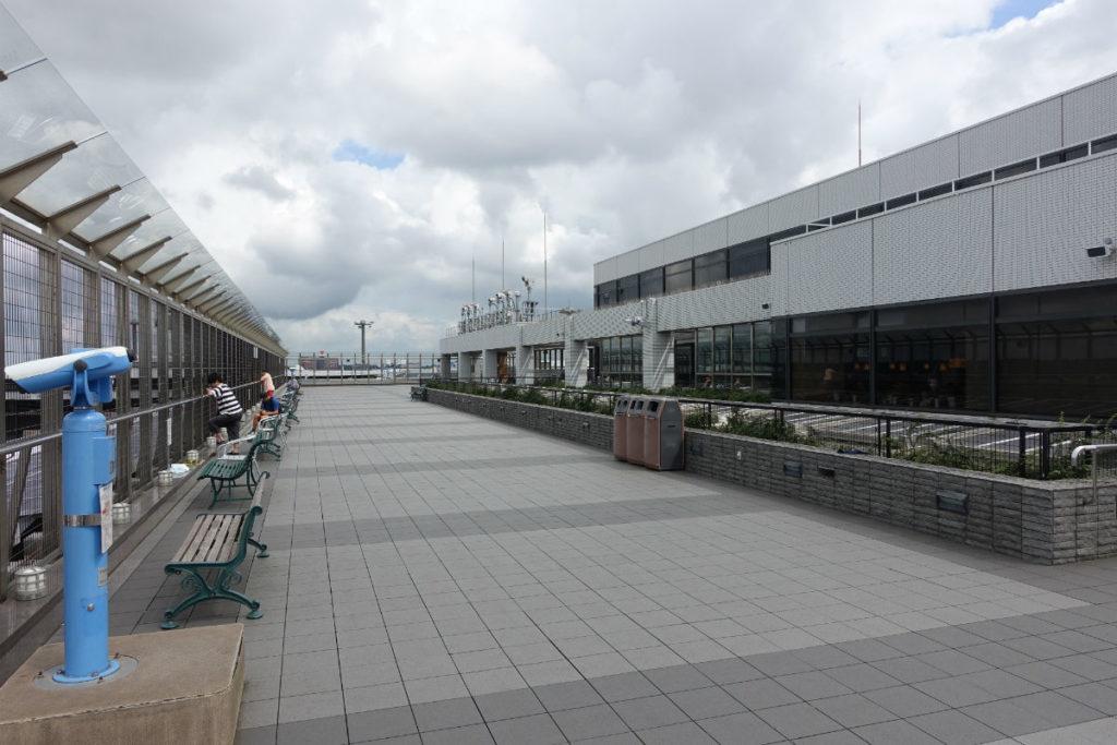 成田空港第一ターミナル5F展望デッキ