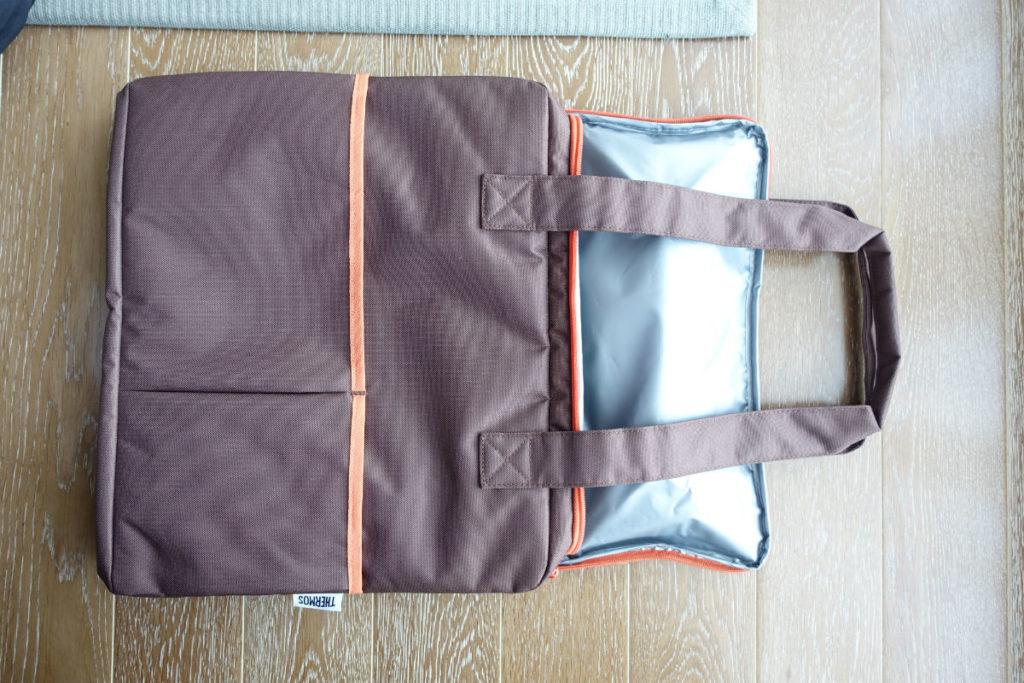 サーモス保冷ショッピングバッグPER-025 ブラウン