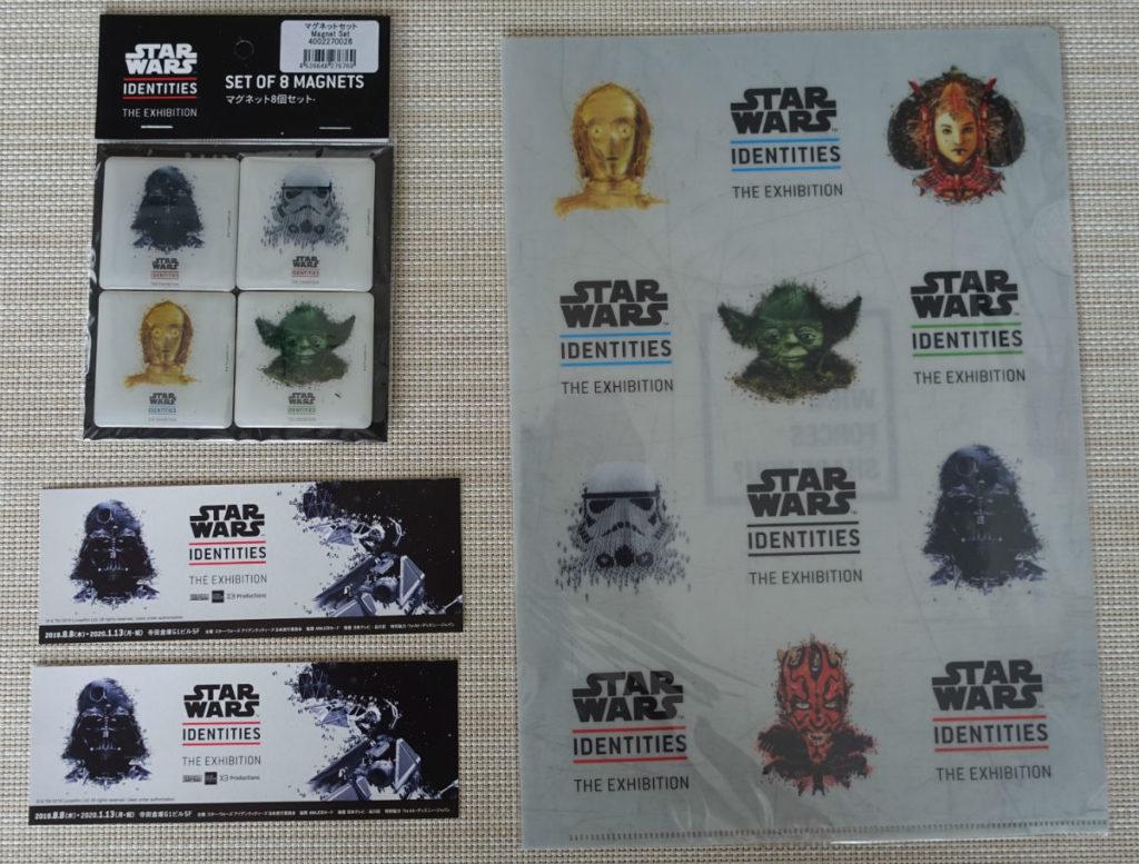Star Wars Identities Japan マグネットとクリアファイル
