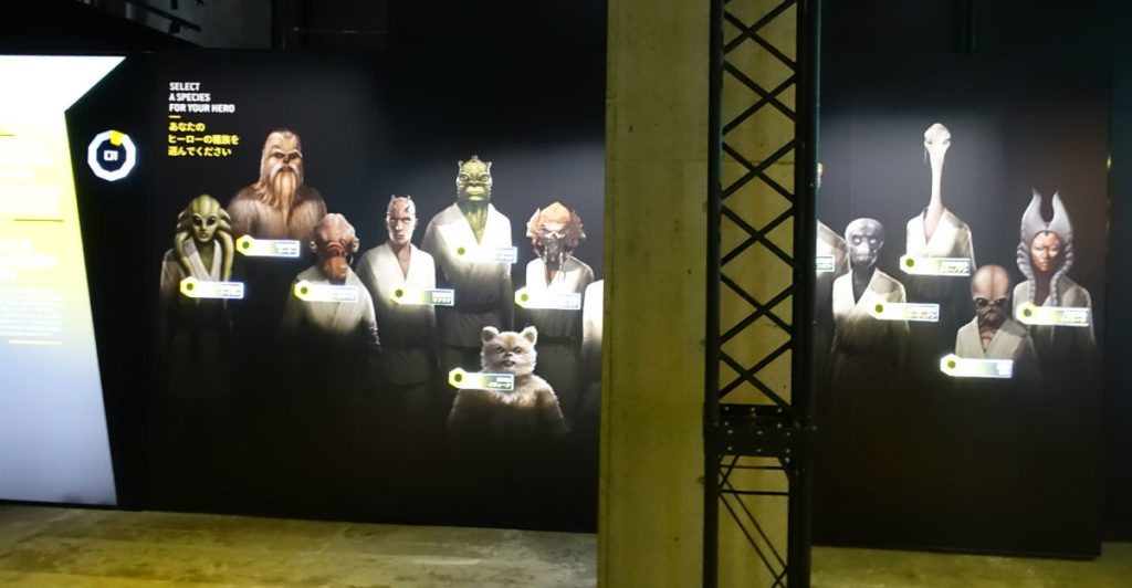 Star Wars Identities Japan リストバンドを使った最初の選択 種族選択 種族一覧