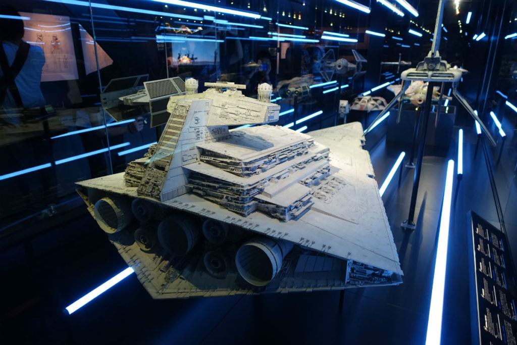 Star Wars Identities Japan 帝国のスペースシップ等