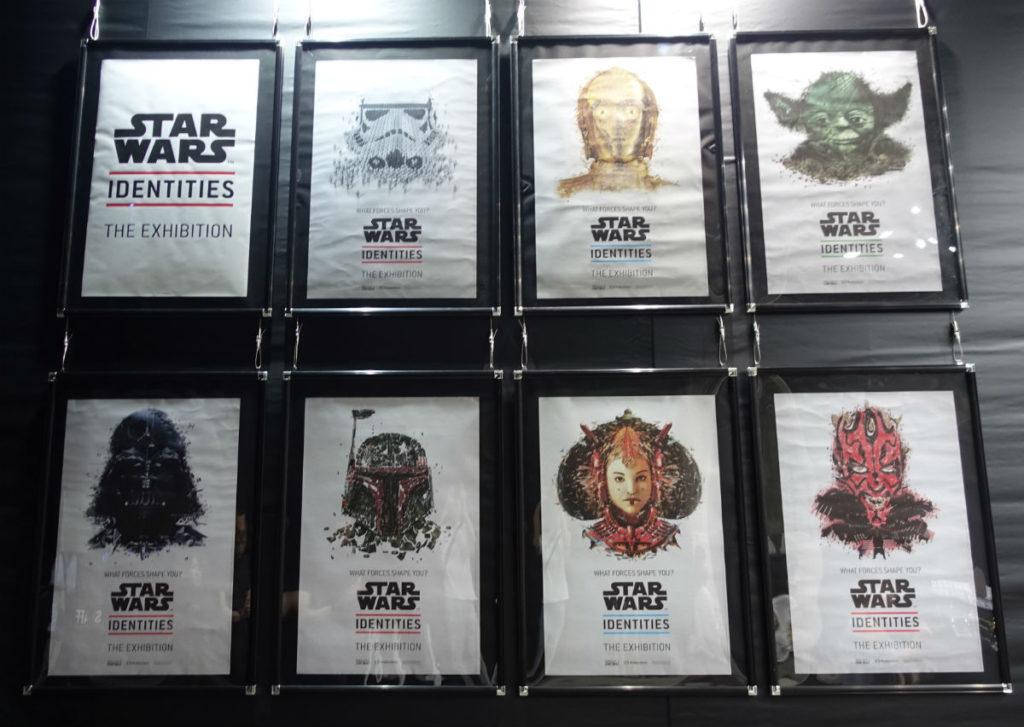 Star Wars Identities Japan 売店でポスター売り切れ