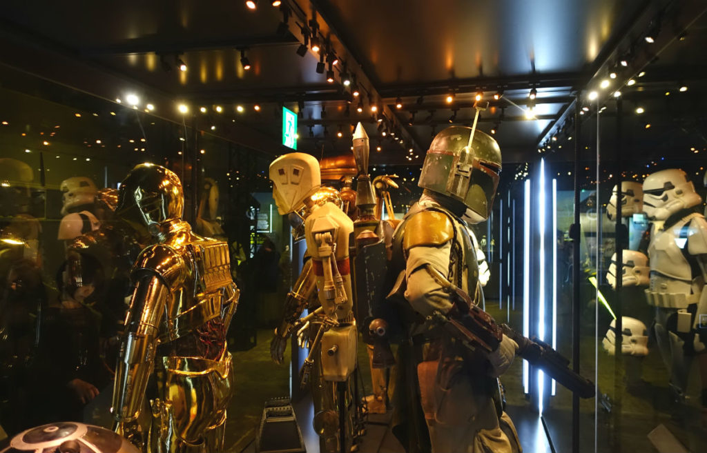 Star Wars Identities Japan ドロイド トルーパー等の展示