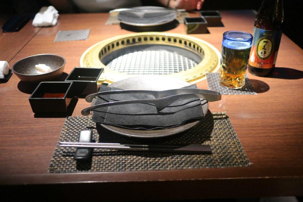 カフーリゾートフチャク コンド・ホテル アネックス棟 琉球BBQ Blue テーブル