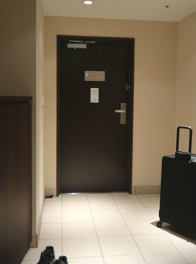カフーリゾートフチャク コンド・ホテル アネックス棟 平面図 コーナースイート玄関