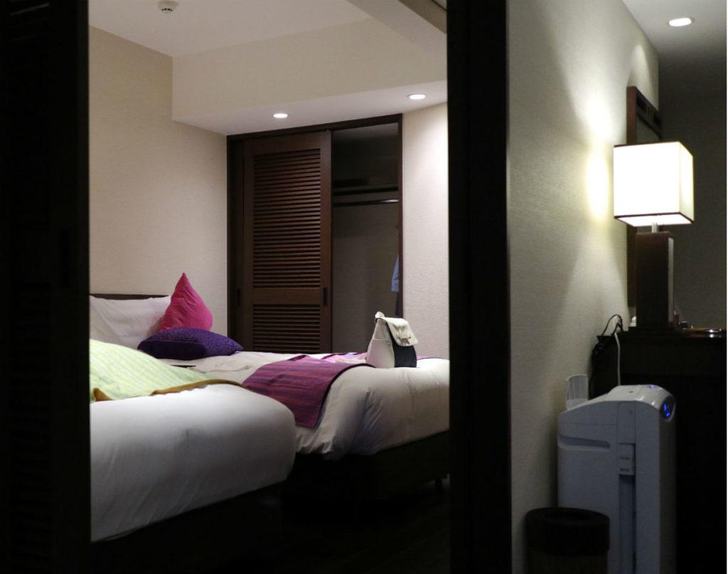 カフーリゾートフチャク コンド・ホテル アネックス棟 コーナースイート ベッドルーム1