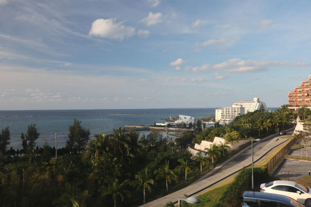 カフーリゾートフチャク コンド・ホテル アネックス棟 コーナースイート 低層階バルコニーからの眺め