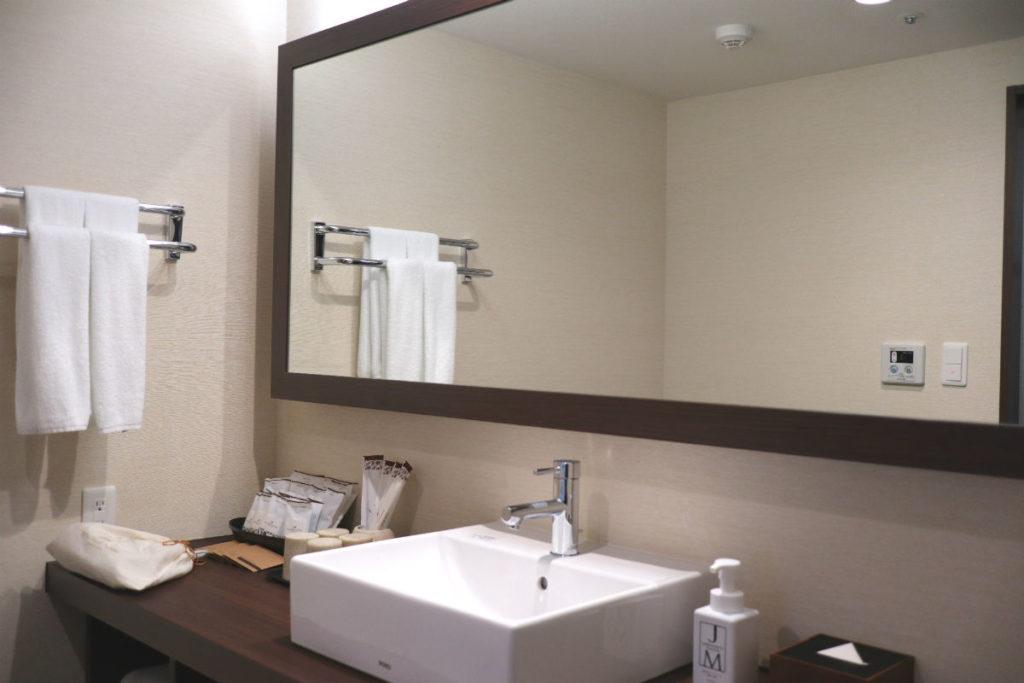 カフーリゾートフチャク コンド・ホテル アネックス棟 コーナースイート 洗面脱衣室