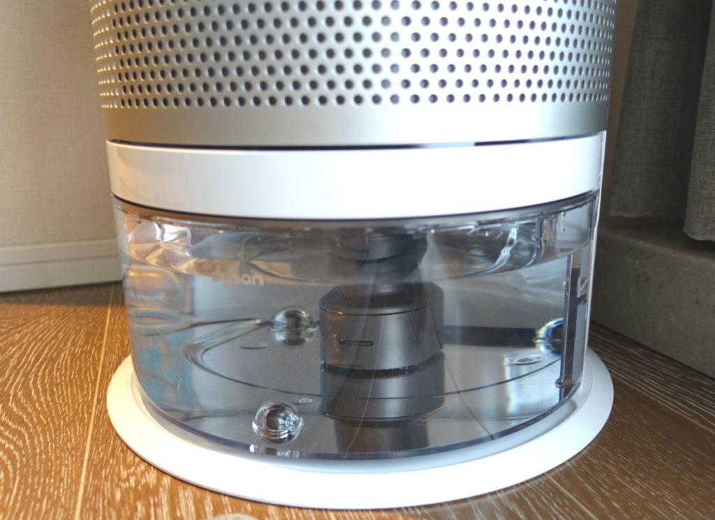 HP01 pure humidity+cool 加湿タンク 吸水後本体にセット