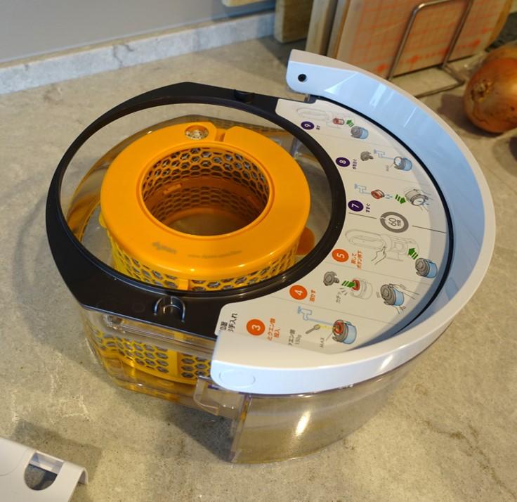 Dyson HP01 pure humidity+cool 加湿フィルターお手入れ 給水タンクでフィルターが洗える
