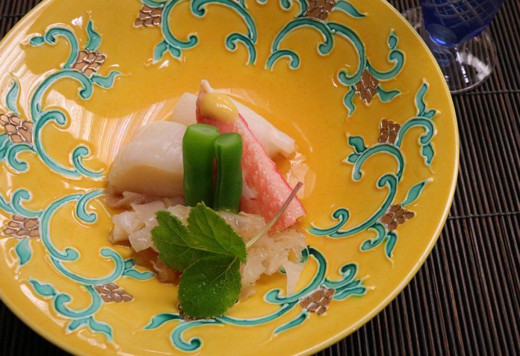 強羅花扇 9月夕食 酢の物