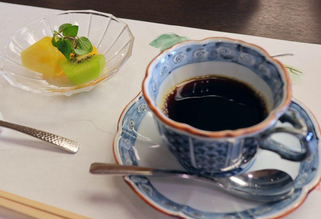 強羅花扇 朝食後 コーヒー