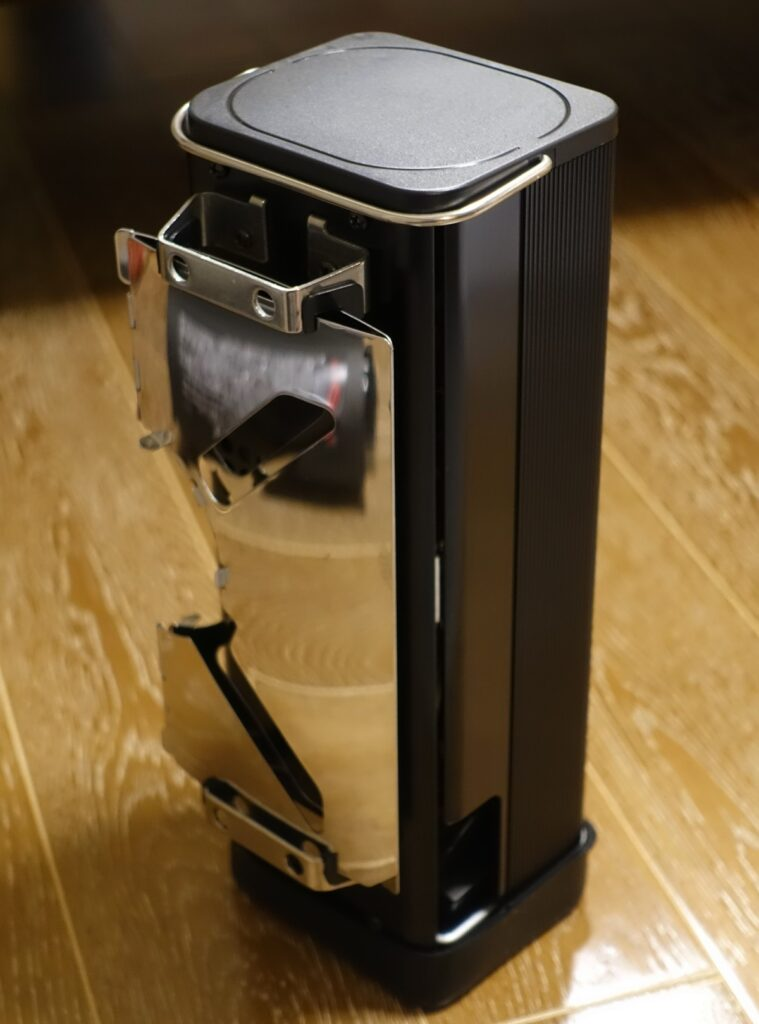 FORE WINDS FOLDING CAMP STOVE 収納縦置き